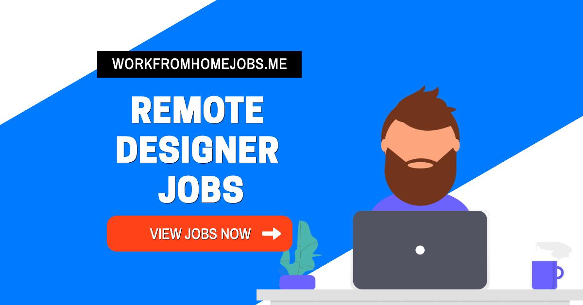 Remote Design Jobs | Remote Web Designer Jobs